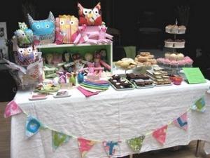 sweet craft stall